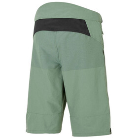 Ziener Efron X-Function Knee Long Shorts Men green mud